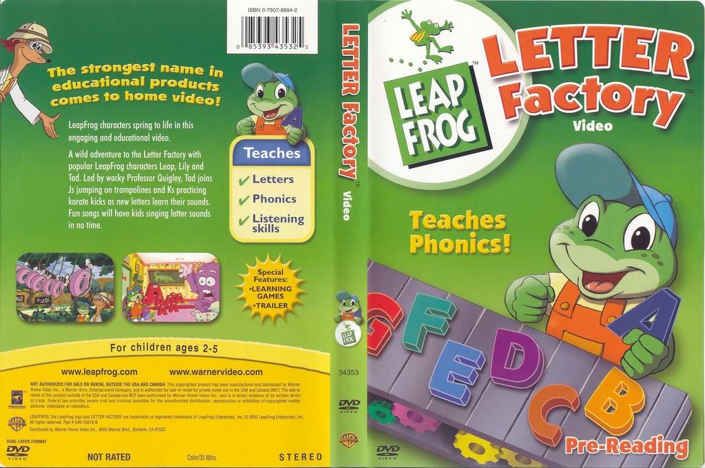 leapfrog letter factory 2009 1 disc new dvd maturing momma southern style 162