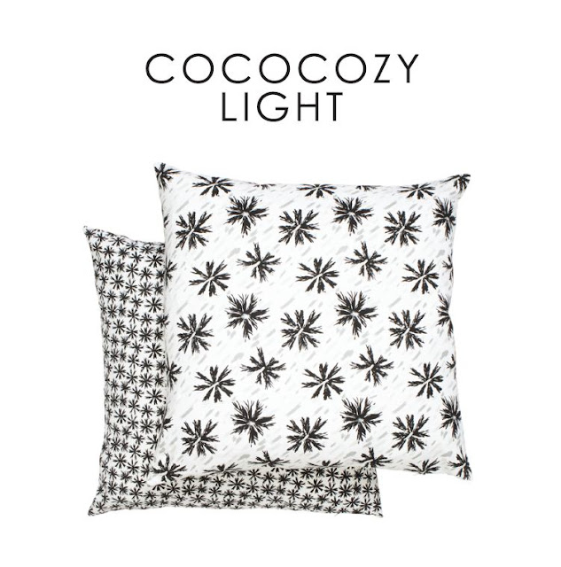 two COCOCOZY Light pillows stacked on top of each other
