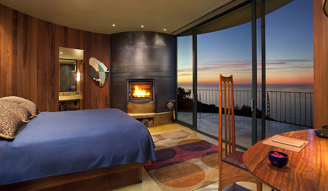 Post Ranch Inn & Spa em Big Sur na Califórnia