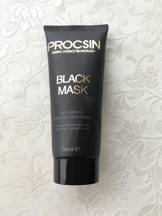 Procsin Black Mask / Siyah Maske