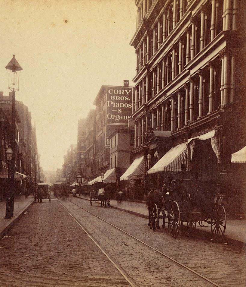 Vintage Photos Of Providence, Rhode Island, Ca.1860-1880