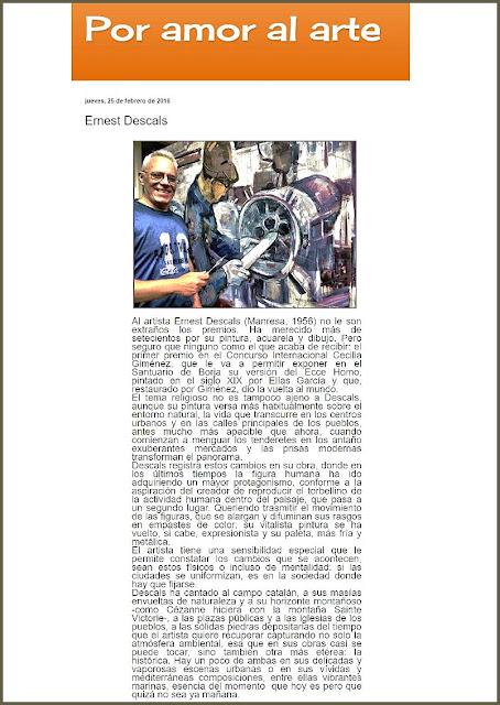 ERNEST DESCALS-PINTOR-ARTISTA-PINTURA-PINTORES-POR AMOR AL ARTE-ARTICULOS-SEMBLANZA-