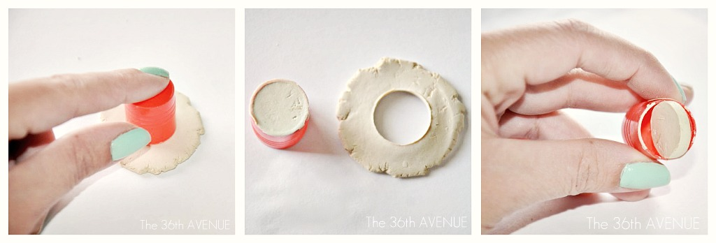 Kids Craft Air Dry Clay Pendant The 36th Avenue