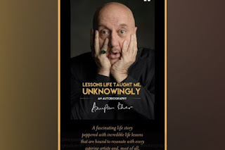 Anupam Kher on his Autobiography