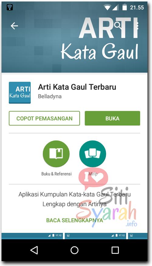 Arti Kata Gaul BBM Android terbaru