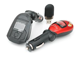 cara menghubungkan hp ke mobil dengan FM Transmitter