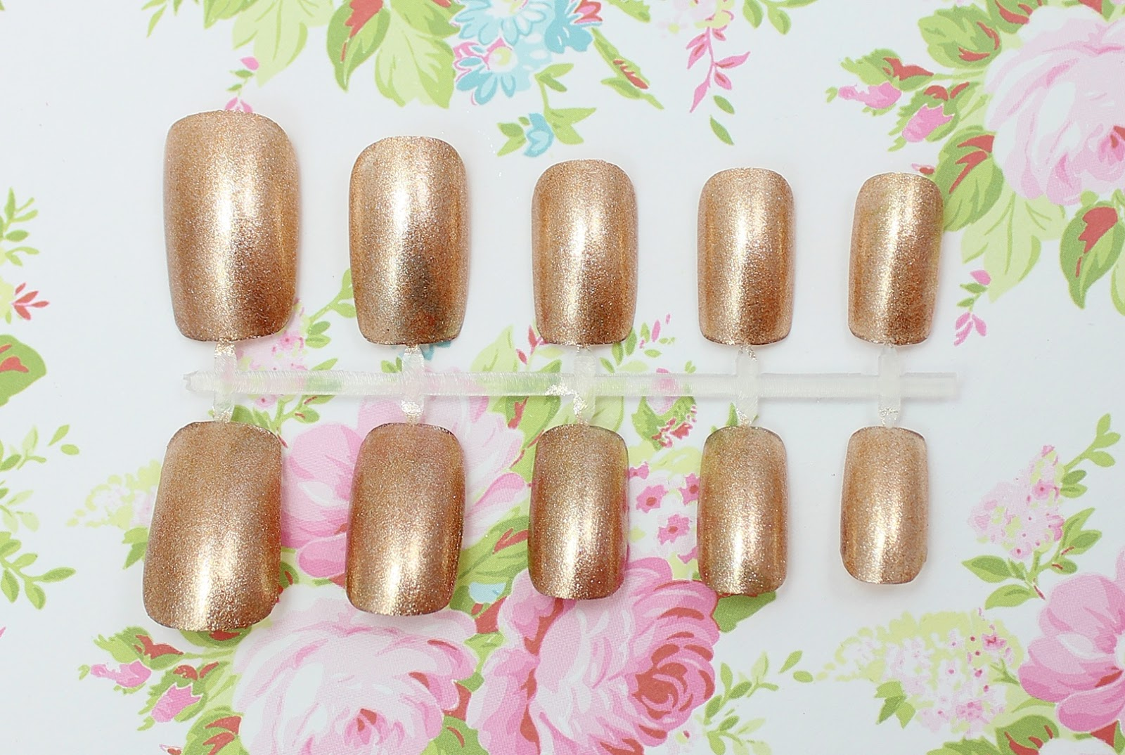 Barry M Molten Metal Nail Paint Bronze Bae swatch