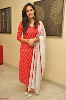 Anusuya in Red at Kalamandir Foundation 7th anniversary Celebrations ~  Actress Galleries 037.JPG