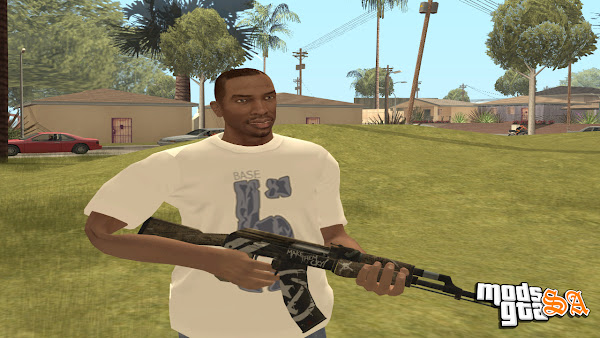 CJ em HD do GTA 5 para GTA San Andreas
