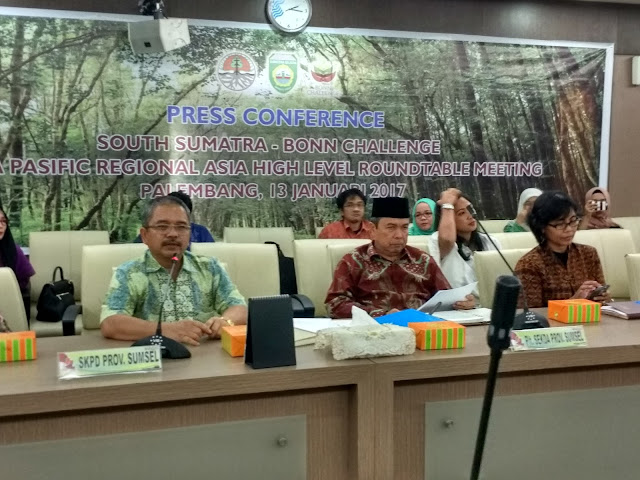 South Sumatra Bonn Challenge Akan Hadirkan Menteri Dari 30 Negara
