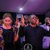 Photos: Former Aviation Minister, Femi Fani-Kayode & wife, Precious, worship in church together