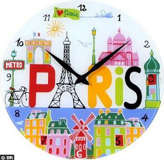Godziny - nagłówek - Francuski przy kawie