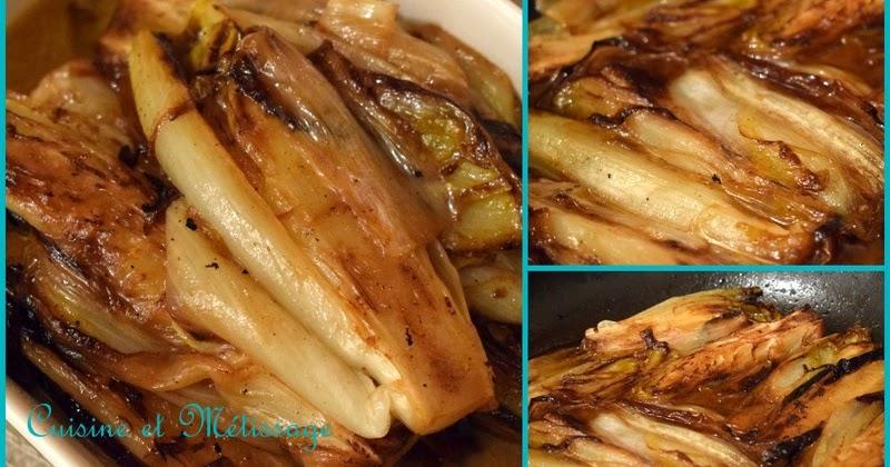 Endives brais es miel citron gingembre cuisine et m tissage - Cuisine couleur miel ...