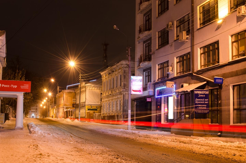Иваново вечером