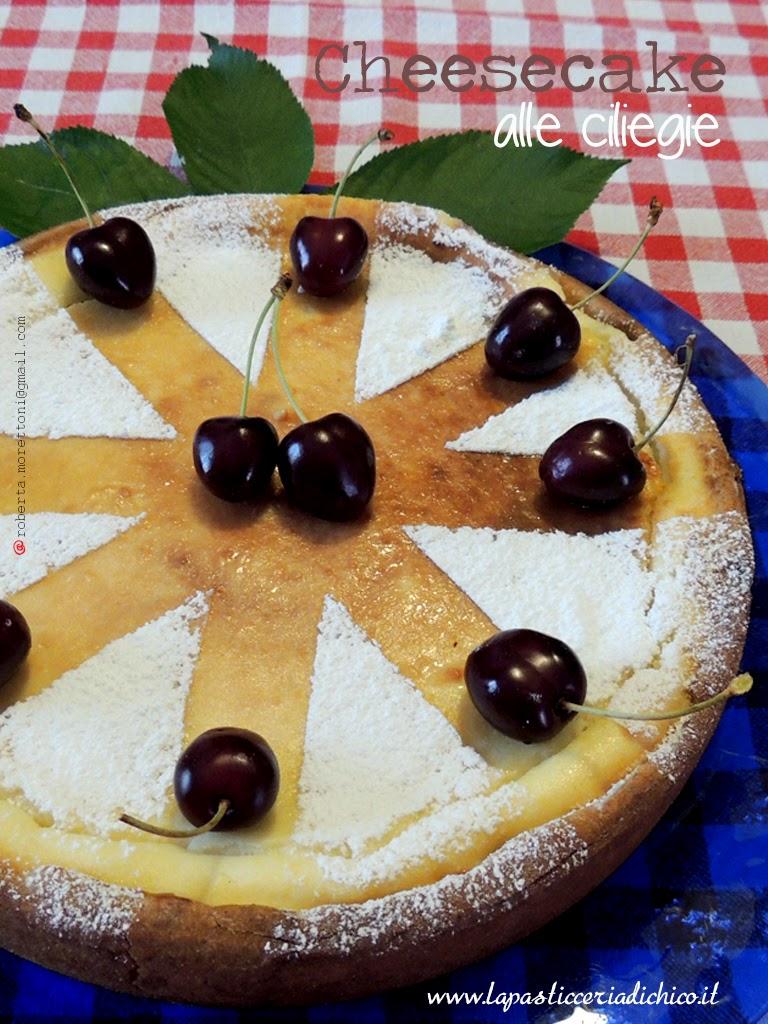 Cheesecake alle ciliegie - www.lapasticceriadichico.it