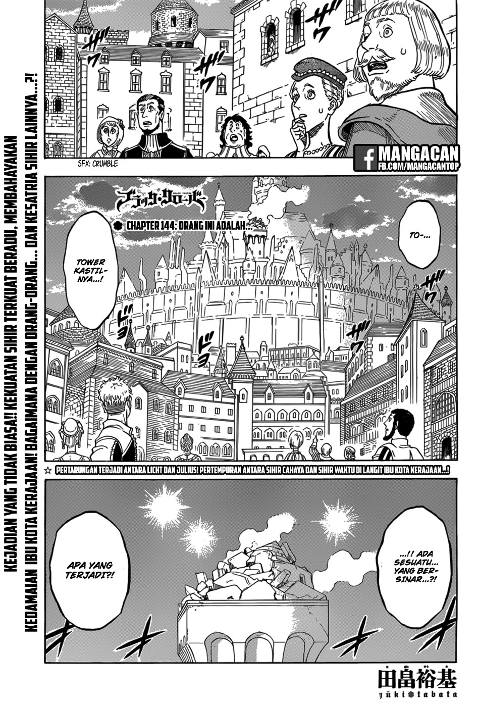 Black Clover Chapter 144 Bahasa Indonesia
