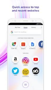 Opera Touch - Opera New Browser