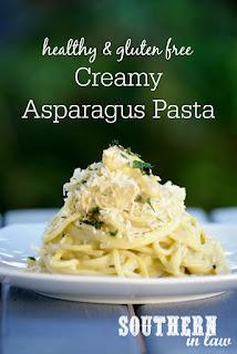 Healthy Creamy Asparagus Pasta Recipe Gluten Free