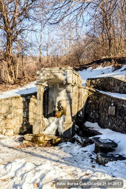 Fontana Voda Josipa II Vela Učka