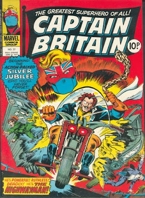Marvel UK, Captain Britain #37, the Highwayman