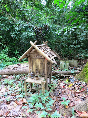 Spirit house in Khao Lak
