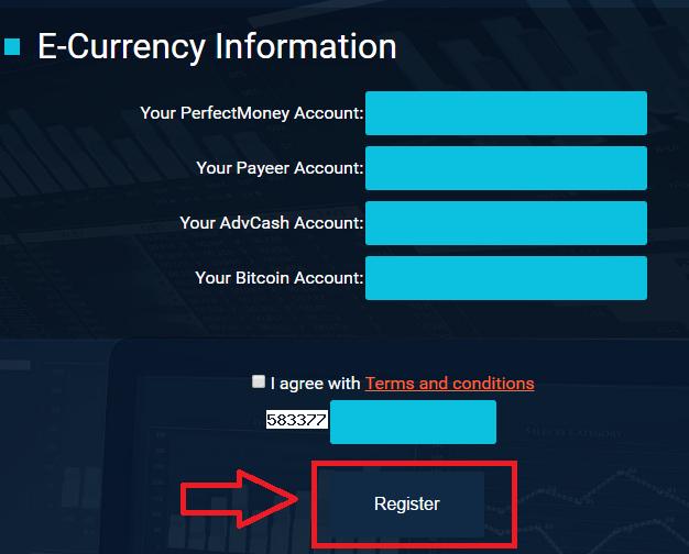 Регистрация в Advisorinvest 3