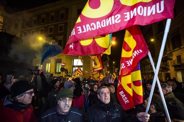 ΔΗΜΟΨΗΦΙΣΜΑ <p> Όχι είπαν οι Ιταλοί, σε πολιτική κρίση η χώρα και η Ε.Ε.
