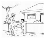 Soal PKn Kelas 2 Bab 2 – Saling Berbagi dan Tolong Menolong