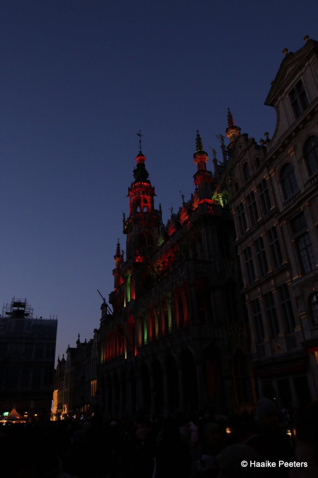 Grote Markt Brussel (Le petit requin)