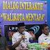 Bersama Ketua PWI Kota Tegal, Walikota Himbau Masyarakat Cerdas Memilah Berita