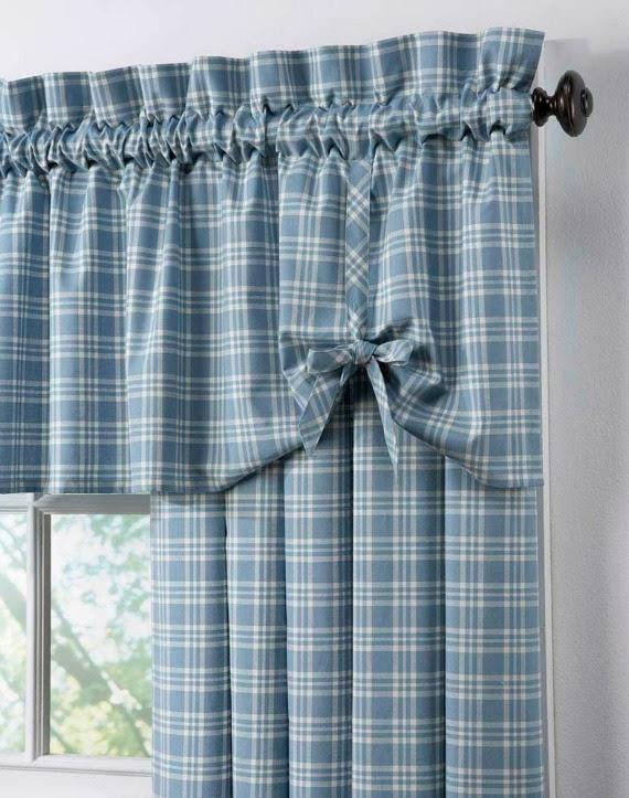 Consigli per la casa e l 39 arredamento montaggio tende idee per fissare al bastone tende - Tende per cucina country ...