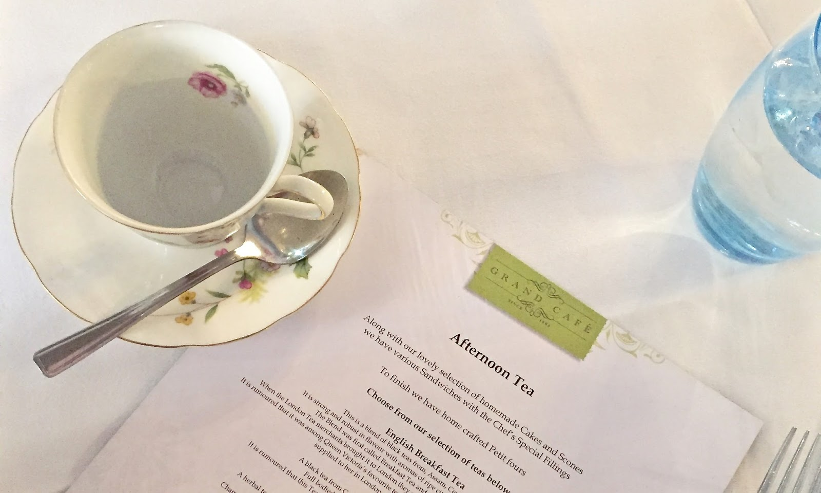 Afternoon Tea | Grand Cafe