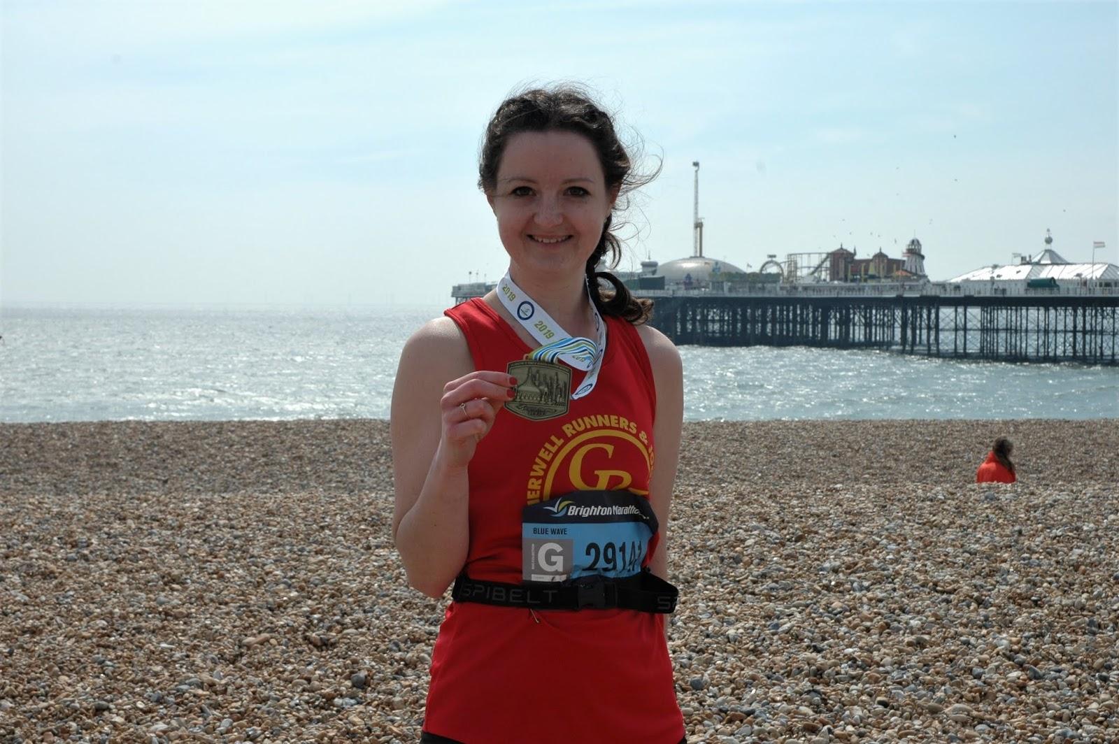 Brighton Marathon Medal 2019