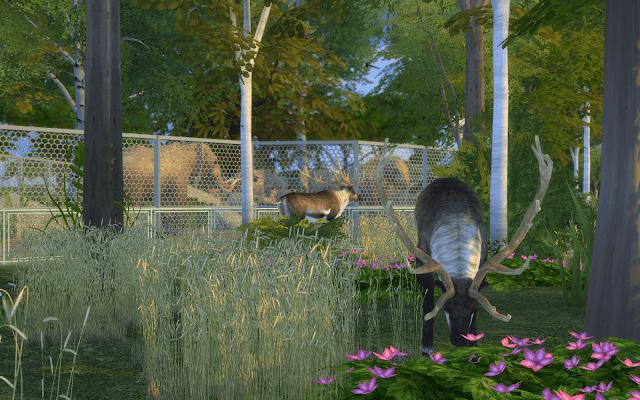 parc animalier sims 4