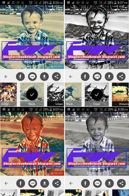 Download aplikasi foto editor Prisma terbaru gratis