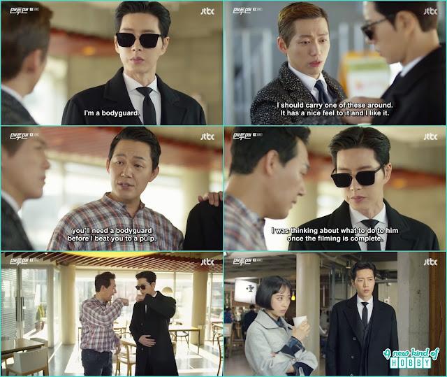 namgun min pick seol woo as the bodyguard of woon gwang - Man To Man: Episode 10 korean drama