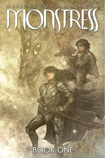 monstress book 1 art cover