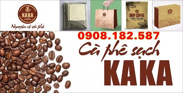 Cà phê túi lọc Kaka hương vị đậm đà, nguyên chất 100% tại Hổ Chí Minh