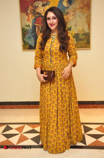 Aiswarya Rajinikanth Dhanush Standing on an Apple Box Launch Stills in Hyderabad  0028.jpg