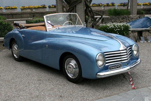 Farina Fiat Spider on 1955 Fiat 8v