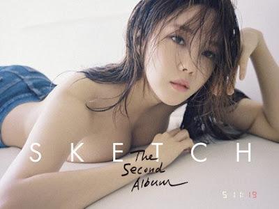 Hyomin T-ara Sketch 2nd Album