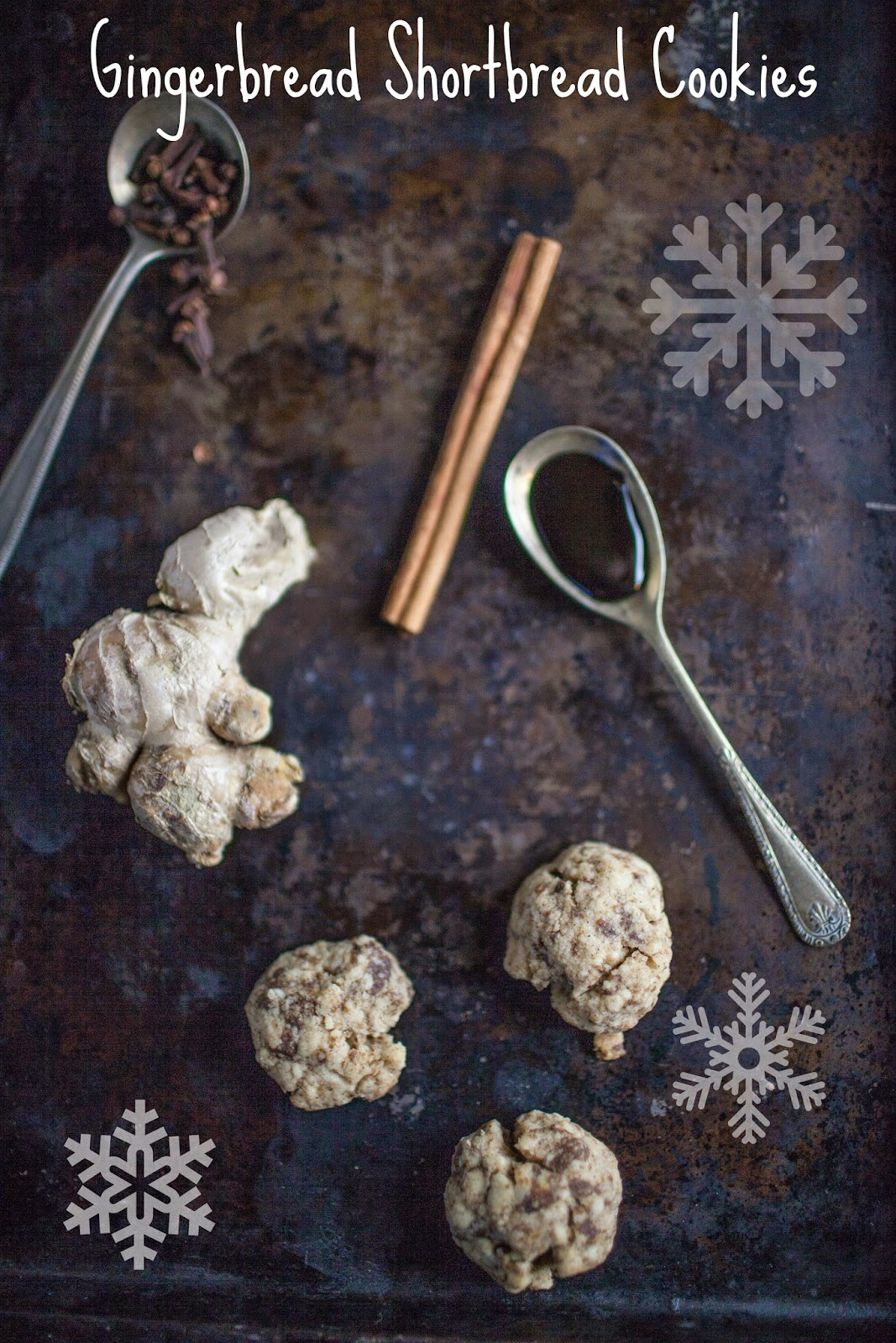 Gingerbread Shortbread Cookies: One Cookie Recipe 12 Ways
