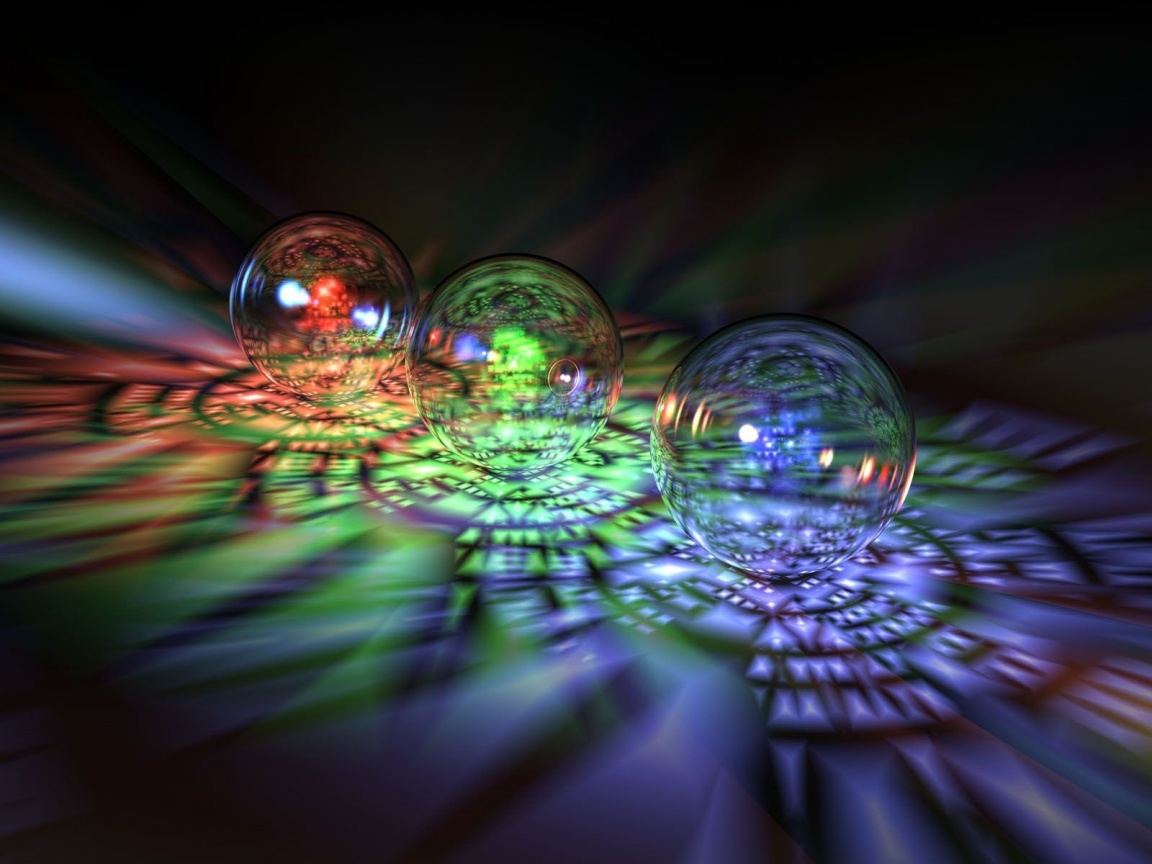 Colourful 3D Bubbles Background Photo, Pictures Free