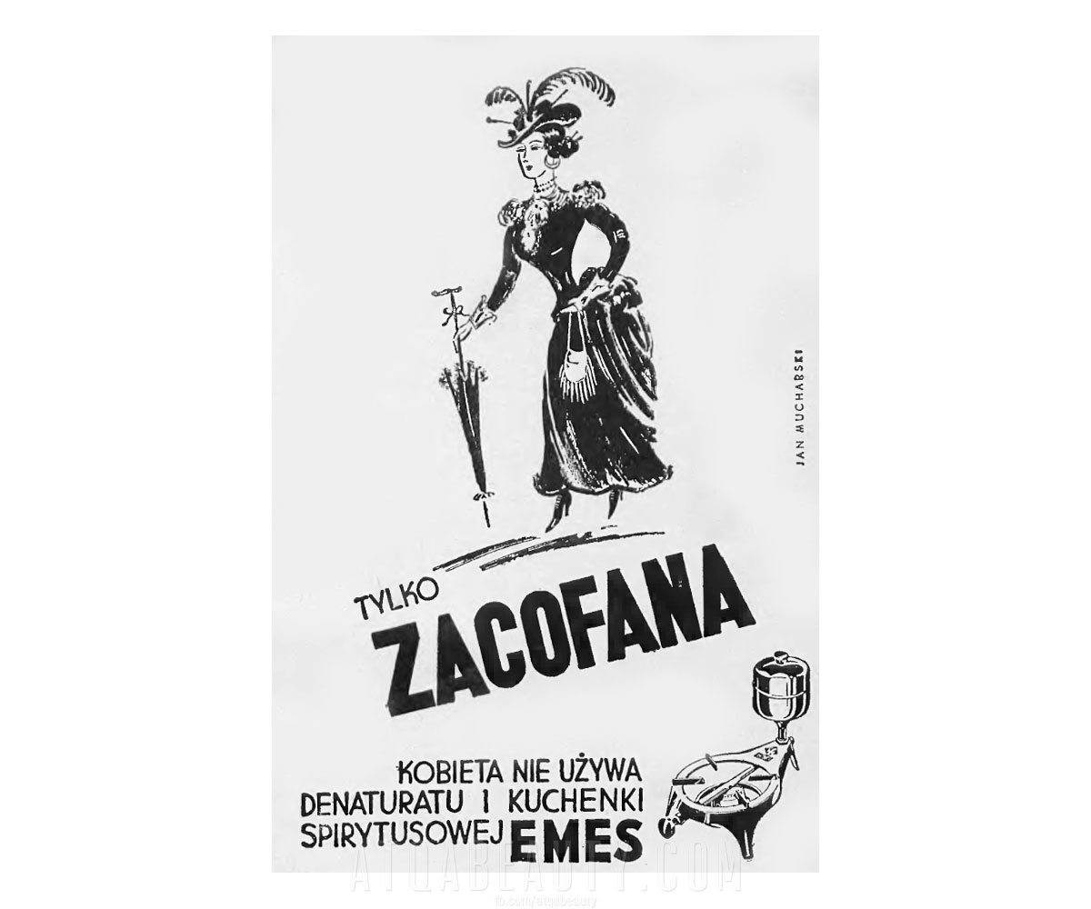 Zacofana • reklama prasowa 1937