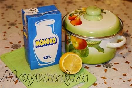 Продукты для детского творожка, фото