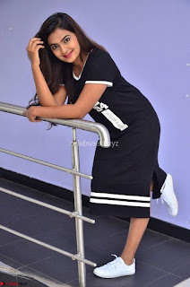 Actress Neha Deshpandey in Black Short Dress ~  Exclusive 004.jpg