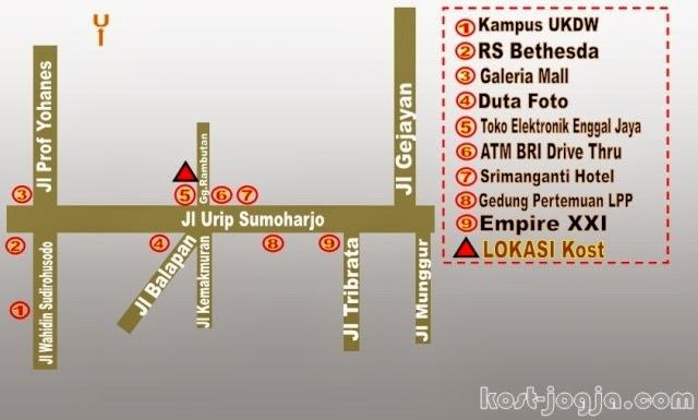 Kost Murah Kota Yogyakarta