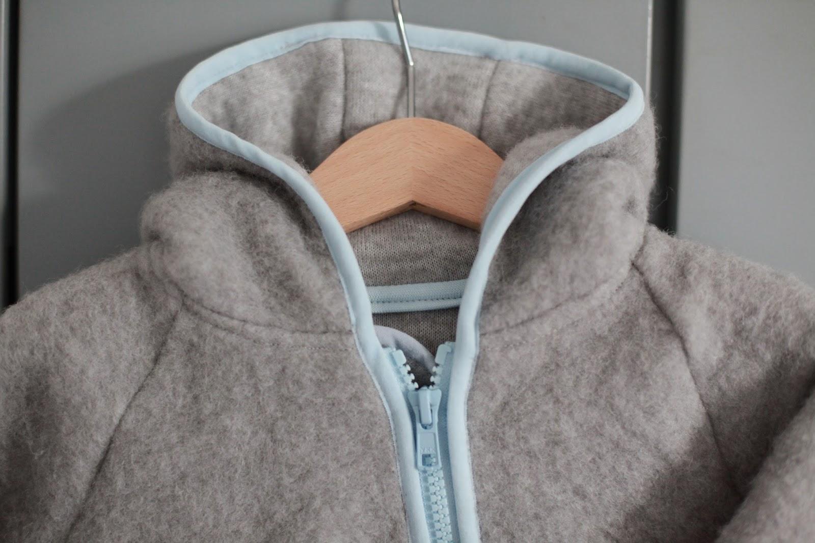 nähen für\'s Baby | ein kuscheliger Wollanzug für die kalten Tage ...