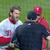 Bryce Harper ejected for arguing balls and strikes from dugout vs Mets