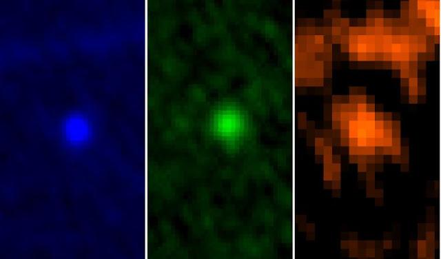 Asteroide Apophis observado em 2013
